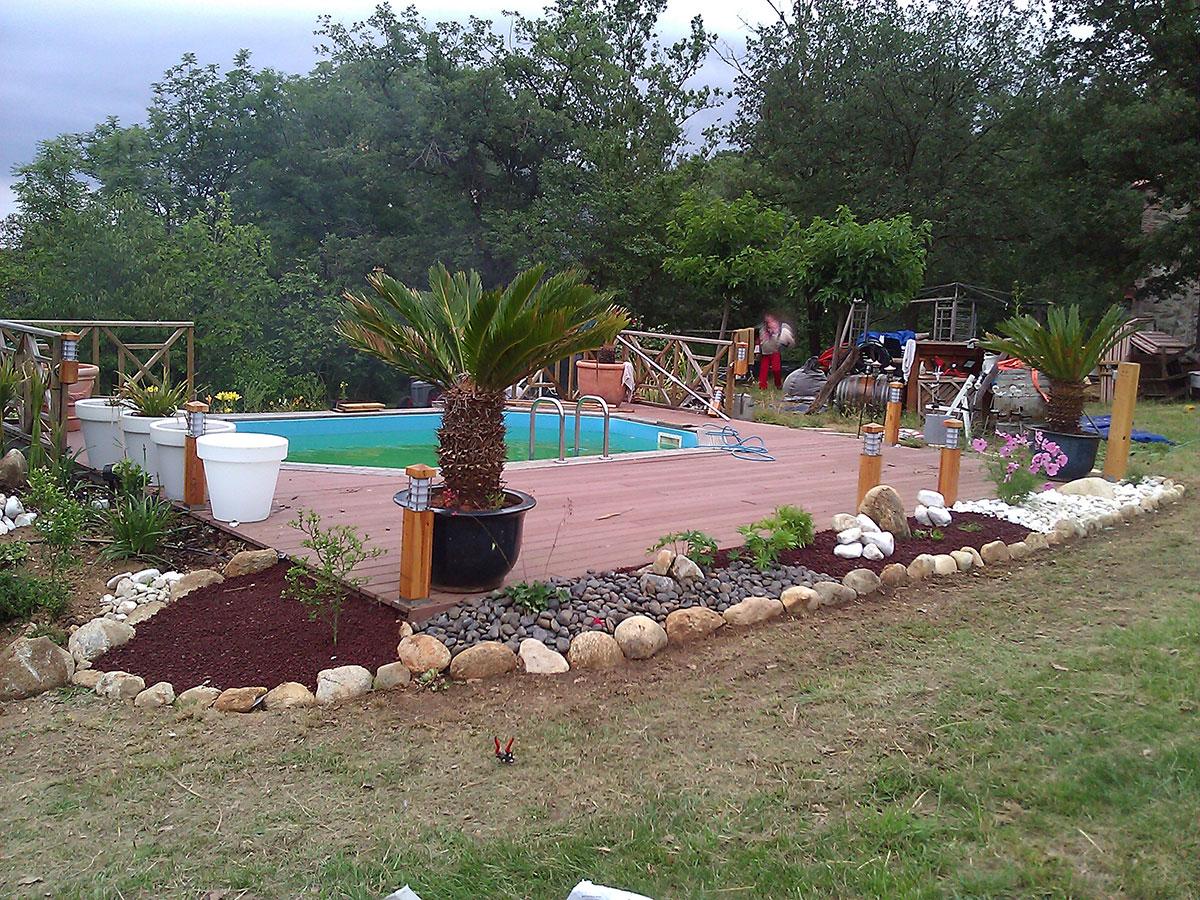Jardinier paysagiste prades am nagement cr ation et for Travaux entretien jardin